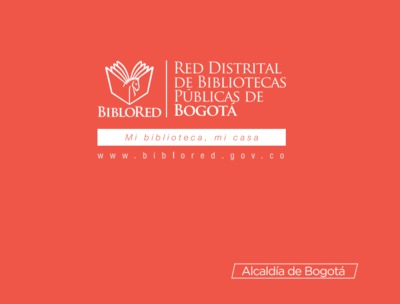 Brochure de la Red Distrital de Bibliotecas Públicas - BibloRed