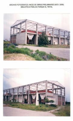 Construcción de la Biblioteca Pública El Tintal Manuel Zapata Olivella
