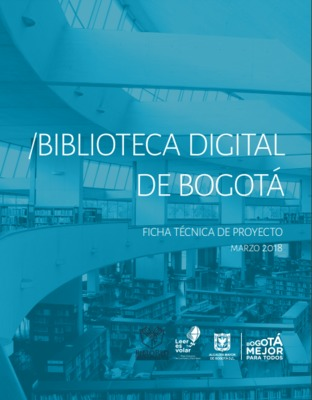 Biblioteca Digital de Bogotá: ficha técnica de proyecto