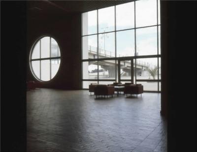 Sala de espera de la Biblioteca Pública El Tintal Manuel Zapata Olivella. Fotografía 2