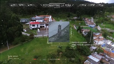 Reconocimientos  y mapeo comunitario hechos a partir de un vuelo en drone  sobre el barrio Los Laches, Bogotá