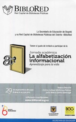 Jornada académica: Alfabetización informacional, aprendizaje para la vida