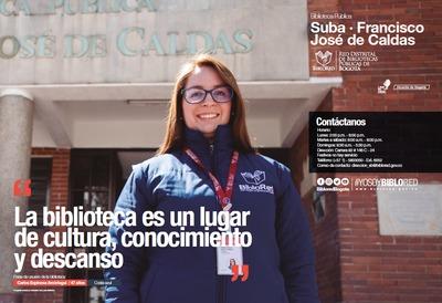 Brochure Biblioteca Pública de Suba Francisco José de Caldas